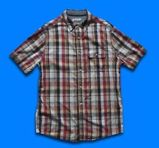 FAT FACE..SMALL..MEN'S CHECK CLASSIC FIT SHORT SLEEVE COTTON SHIRT TOP..S..MULTI