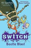 S.W.I.T.C.H 6: Beetle Blast by Ali Sparkes, Good Used Book (Paperback) FREE & FA