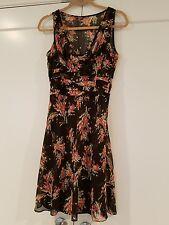 NEW NWT ANN TAYLOR LOFT SZ 6 PETITE Dress LINED FLORAL