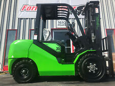 2021 Viper Fd35 8000lb Pneumatic Tire Diesel Forklift Lifttruck 4 Way Hydraulics