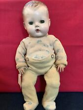 New listing Vtg American Character Tiny Tears Baby Doll Sleep Eyes Molded Hair 13� Tlc Cute