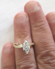 14K Gold Diamond Engagement Ring Solitaire 1.25 F-SI2 Enhanced  Value=$9,750