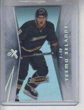 08/09 Fleer Ultra Anaheim Ducks Teemu Selanne EX card #ex42