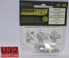 Mitoos M158 Amortisseur Réglable Vis Rotule R Evo pour Axes 2 Pièces