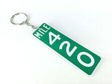 Mile Marker 420 Road Sign Keyring / Key Ring Weed Gift Idea