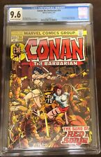Conan the Barbarian 24 CGC 9.6. 1st full Red Sonja! Movie coming! Hot book! 1973