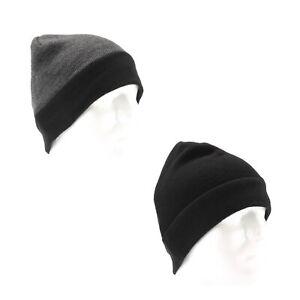 Van Heusen - Fleece Lined Beanie for Men - Winter Hat One Size