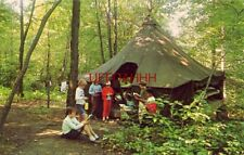 Tent Area. Green Hill, Wesley Woods, Pennsylvania 1974