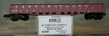 62040 Micro Trains N Scale 50' Composit Gondola Rock Island 1199 Nib