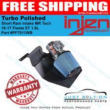 Injen Fits 16-17 Fiesta ST 1.6L Turbo Polished Short Ram Intake MR Tech SP9018P