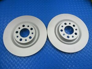 Alfa Romeo Stelvio rear brake rotors TopEuro #9044