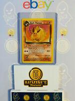 Dark Flareon 35/82 NM Near Mint Team Rocket 2000 Non-Holo Pokemon Card