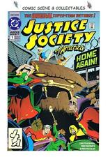 **JUSTICE SOCIETY OF AMERICA #1**. {1992}  DC,  1st JESSE QUICK, FLASH