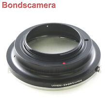 Mamiya 645 lens M645 Mount to Nikon F mount Camera Adapter D4 D800 D7100 D5200