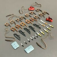 """Lot of 42pcs Swing Knives Swords Accessories For 3.75"""" Indiana Jones Figure Toy"""
