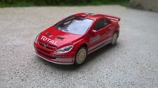 Miniature Norev 3 inches 1/64 Peugeot 307 WRC