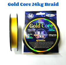 Braid Gold Core Fishing Braid Line 24kg/50lb 200mt spool