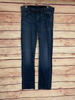 COH Citizens of Humanity Ava Low Rise Straight Leg Jeans Size 31 Dark Wash