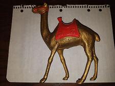 Cast Iron Still Bank Camel Large Size