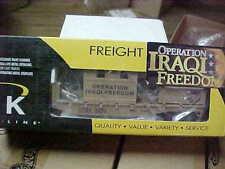 K-LINE,,,,,# K-681-8018----IRAQI FREEDOM----SECURITY RAIL CAR