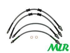 FORD MK4 MK5 FIESTA ZETEC S STAINLESS STEEL BRAIDED BRAKE LINES HOSES PIPES WS