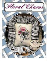 Floral Charm Cross Stitch and Crochet   Leisure Arts RENLATM5 Supplement