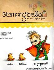 New Stamping Bella Cling Rubber Stamp SILLY GOOSE CHILD SET FREE US SHIP