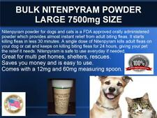 Bulk Nitenpyram  7.5g enough to treat up to 625 dogs/cats FAST flea kill Generic