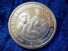 Somali Republic African Monkey Silver $10 2000 1oz .999 Silver Bullion Coin