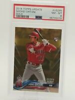 2018 Topps Update #US285 SHOHEI OHTANI Gold Serial #1455/2018 PSA 8 RC Rookie