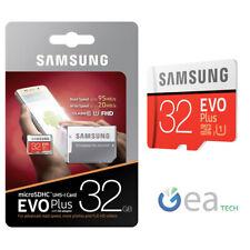 Samsung MICROSD Evo Plus 32gb Class 10 + SD Adapter UHS-I SDHC Memory