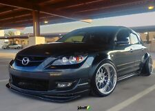 "Mazda3 Fender Flares CLASSIC wide body kit for Mazdaspeed3 3.5"" (90mm) 4pcs"