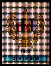 Panini Football 87 (Belgium) Badge Club Liegeois No. 201