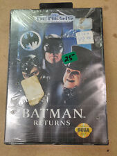 New Old Stock SEALED Batman Returns for Sega Genesis - Lot A