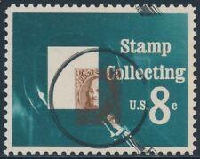 """#1474 Var. """"Stamp Collecting"""" Major Black & Brown Color Shift Error Bs2680"""