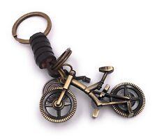Full Trail Fully Fahrrad Schlüsselanhänger Anhänger aus Metall Bronze