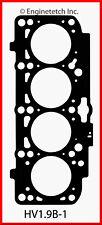 Engine Cylinder Head Gasket ENGINETECH, INC. HV1.9B-1