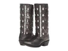 Laredo Diamond  Womens Boots  Black Distressed Leatner  7.5US  NIB
