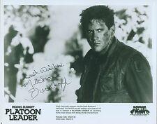 *MICHAEL DUDIKOFF* Signed Autograph 8 x 10 B/W w/COA RARE!