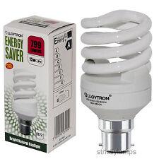 15w Bc Luz ahorro de energía Bombilla b315blc Mini Full Espiral Tubo