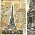 """NEW YORK (18"""" x 24"""") and PARIS (18"""" x 24"""") SET by MARTA WILEY 2PC CANVAS"""