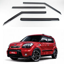Smoke Window Vent Visors Rain Guards for Kia Soul 2010 2012 Ship US