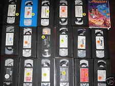 18 different Children's Videos - VHS