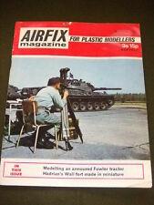 AIRFIX MAGAZINE - HADRIANS WALL FORT - MARCH 1971