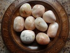 STILBITE 1/4 Lb Gemstone Specimens Tumbled Wiccan Pagan Metaphysical