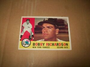 1960 TOPPS BOBBY RICHARDSON # 405 NM/MT