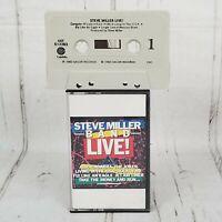 Steve Miller Band Live Cassette 1983 Sailor Records