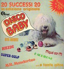 [DG3] DISCO 33 GIRI DISCO BABY UFO ROBOT HEIDI 20 SUCCESSI