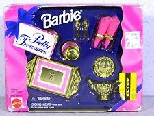 NIB BARBIE DOLL 1995 PRETTY TREASURES DINNERWARE SET