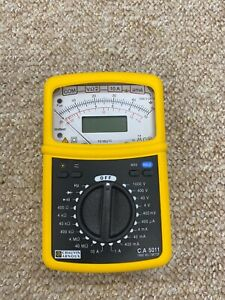 Chauvin Arnoux CA5011 Multimeter gelb TRMS analog / digital